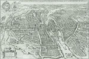 Paris 1615 , Matthäus Merian